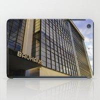 bauhaus iPad Cases featuring Bauhaus Sunset by Nat Alonso
