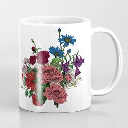 "Flower Arrangement Fall in Love Series "" Let it be"" Coffee Mug"