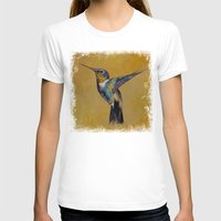 hummingbird T-shirts featuring Hummingbird by Michael Creese