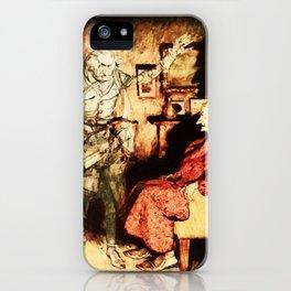 Ebenezer Scrooge and Jacob Marley iPhone Case