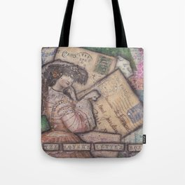 The Lover's Letter Box Tote Bag