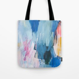 Abstract Neon Painting Tote Bag