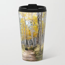 Aspen Glow Metal Travel Mug