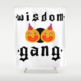 Wisdom Gang Shower Curtain