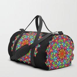 Psychedelic Porcupine Mandala Duffle Bag
