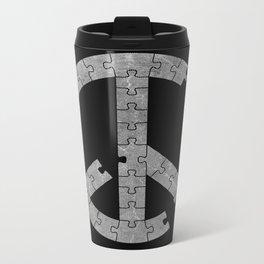 Puzzle Peace Metal Travel Mug