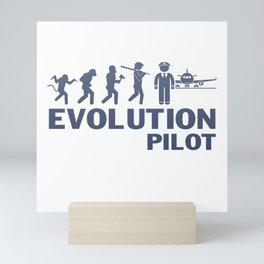 Evolution - Pilot Mini Art Print