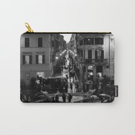 Rain in Rome Carry-All Pouch