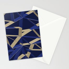 3D Futuristic GEO IX Stationery Cards