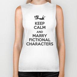 Marry Fictional Characters Biker Tank