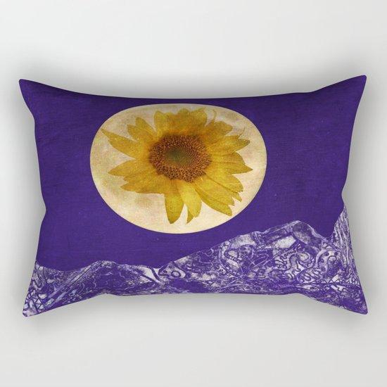 Sunflower Moon Rectangular Pillow