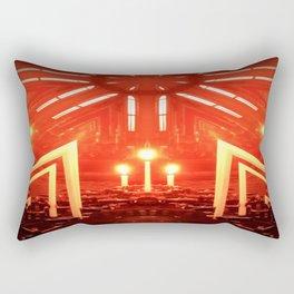 Holy Flame Rectangular Pillow