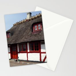 Farm house Denmark Stationery Cards