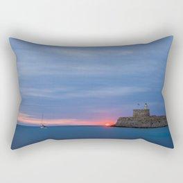 Rhodes Greece Rectangular Pillow