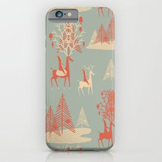 Reindeer, Trees and Elves iPhone 6s Slim Case