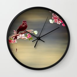 Touch of paradise Wall Clock