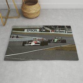 Ayrton Senna Formula 1 Battle Rug