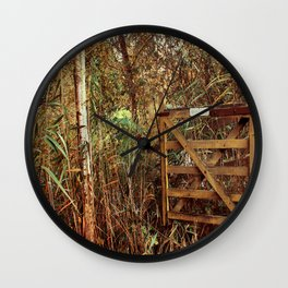 Close The Gate Wall Clock