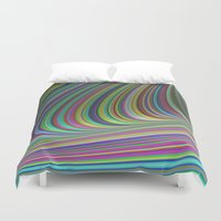 illusion Duvet Covers featuring Illusion by David Zydd