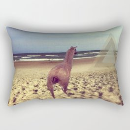 Ethereal Llama Rectangular Pillow