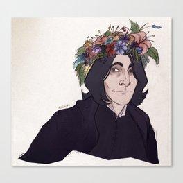 A Flower Crown Canvas Print