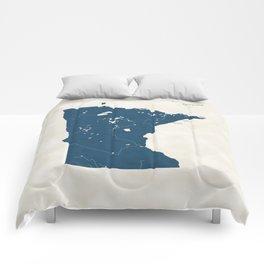Minnesota Parks - v2 Comforters