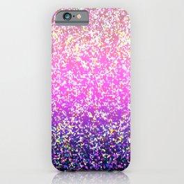 Glitter Graphic Background G104 iPhone Case