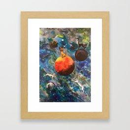 Space Catz Framed Art Print