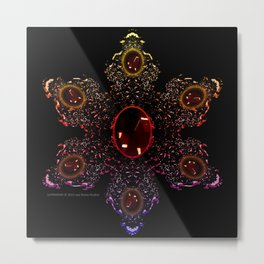 Super Gems - 053 Metal Print