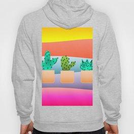 Sunset Cacti Hoody