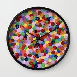 Colors of Joy Wall Clock