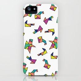 Origami iPhone Case