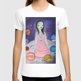 My hair is being pulled by the stars again T-shirt