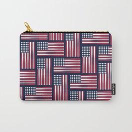 USA Baseball Flag Carry-All Pouch