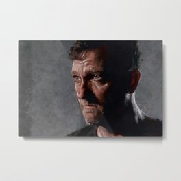 Richard From The Kingdom - The Walking Dead Metal Print