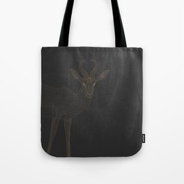 All lines lead to the...Springbok Tote Bag