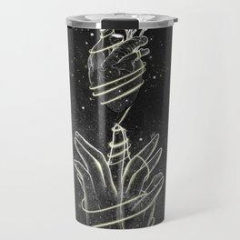 The strings of our heart. Travel Mug