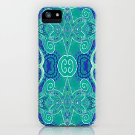 Boujee Boho Collection Green Purity iPhone Case