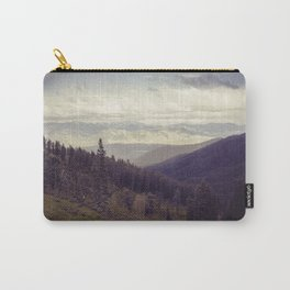 Above The Mountains Carry-All Pouch