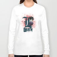 death note Long Sleeve T-shirts featuring Death Note by feimyconcepts05