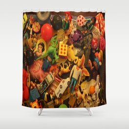 Hidden Object Toys & Fred Shower Curtain
