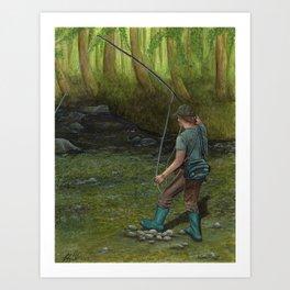 Fisherman's Paradise Art Print
