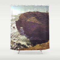 south africa Shower Curtains featuring Africa by KIEKKMA
