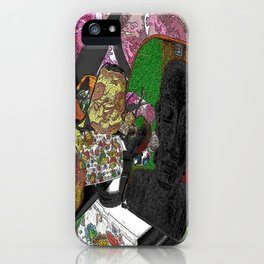 Whacky Bags pattern iPhone Case