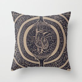 Heart of the Matter Concept Throw Pillow