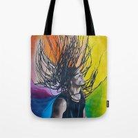 reggae Tote Bags featuring Reggae by Halinka H