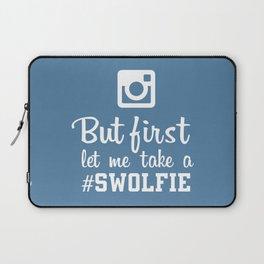 #swolfie Laptop Sleeve