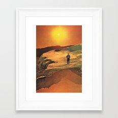 The Singer (ty) Framed Art Print