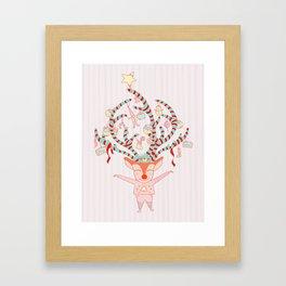 Let's celebrate! Framed Art Print
