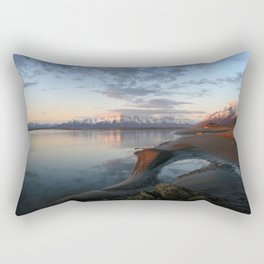 ALASKA II: Knik Arm - Magical Minustide Rectangular Pillow